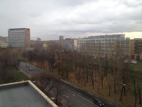 Zvezdnaya Hotel : Вид с окна номера