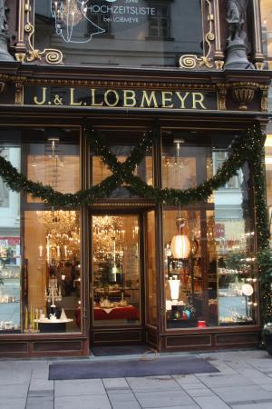 Lobmeyr Geschäft und Glasmuseum