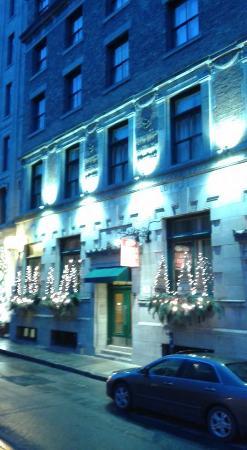 Le Saint-Pierre Auberge Distinctive: L'hôtel