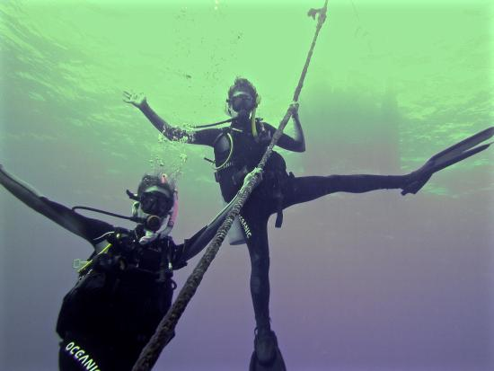 Banzai Divers Hawaii: Descending 105ft in style