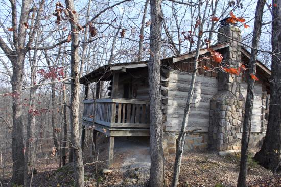View of back porch wilderness cabin picture of silver for Cabins near silver dollar city