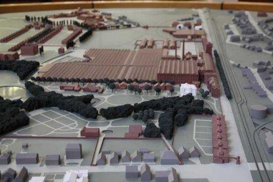 Delmenhorst, ألمانيا: Modell des Geländes