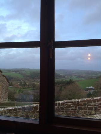 Umberleigh, UK: View from the sofa!