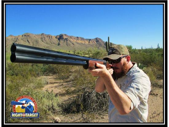Right On Target Clay Guides of AZ: Mike at Rio Salado
