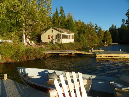 Grand Marais, Minnesota: A beautiful fall day on the dock