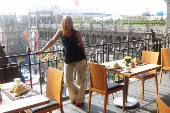 Terraza photo de gran hotel ciudad de mexico mexico for Restaurante terraza de la 96 barranquilla