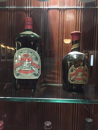 Keith, UK: Original Chivas Bottle