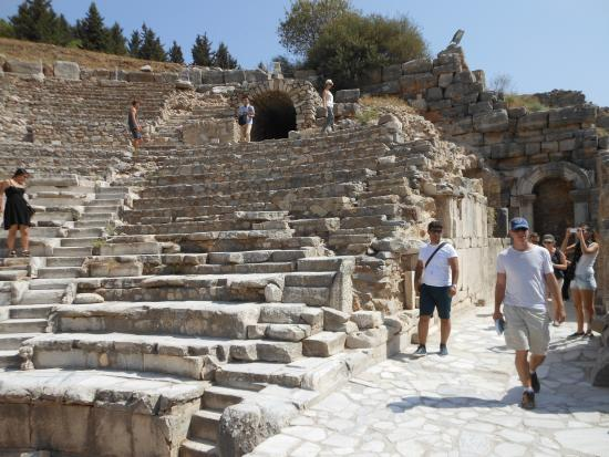 Ephesus Theater - Picture of Efes Antik Kenti Tiyatrosu ...