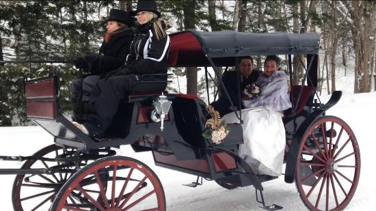 Port Carling, Canada: Carriage ride winter