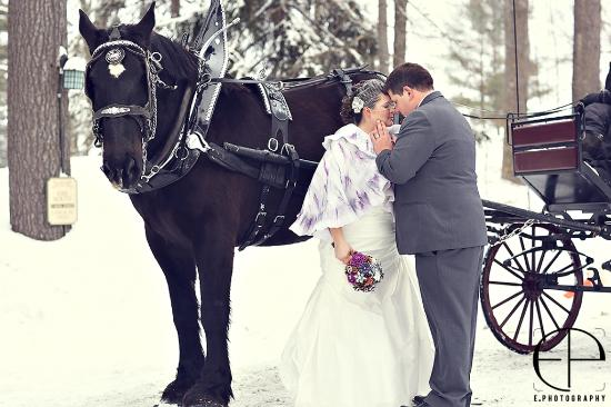 Port Carling, Kanada: Winter Wedding