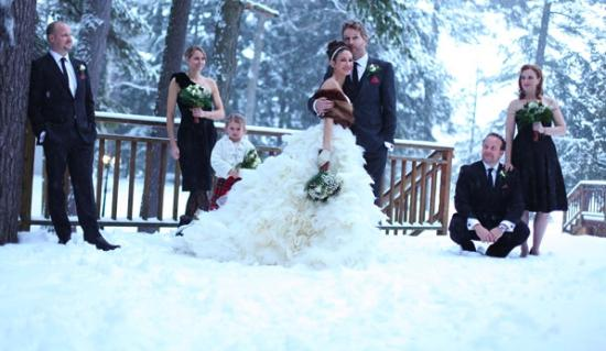Port Carling, Καναδάς: Winter Wedding
