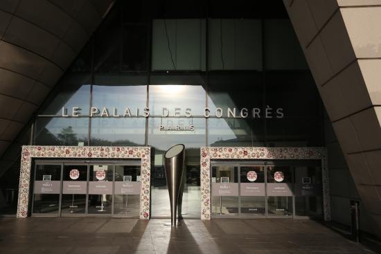 Paris palais des congr s entr es c t porte maillot fotograf a de palais des congres de - Adresse palais des congres paris porte maillot ...