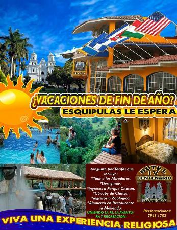 Hotel iv centenario desde esquipulas guatemala for Paquete familiar en un hotel