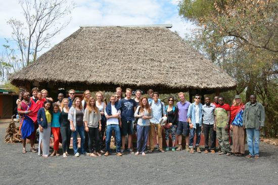 Maasai Simba Camp : Public gathering area