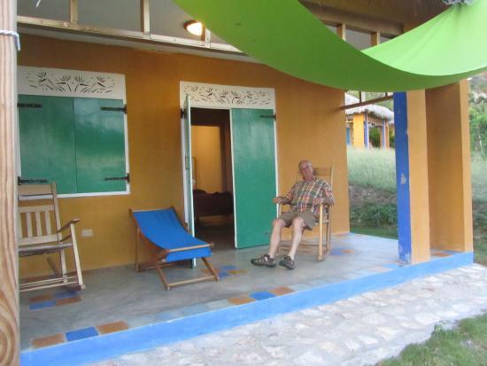 Marigot, Haití: Shady porch