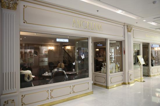 Paris palais des congr s porte maillot galerie marchande niveau 0 caf angelina picture - Salon de l emploi palais des congres ...