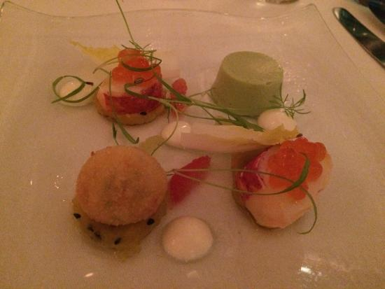 Gilpin Hotel & Lake House: One of the fabulous starters