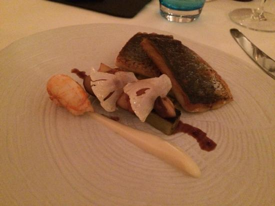 Gilpin Hotel & Lake House: One of the main courses