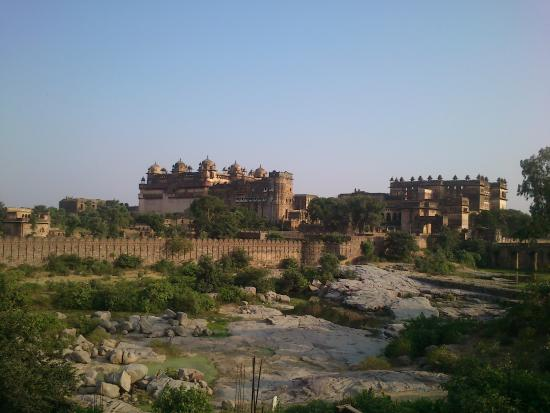 Hotel Ganpati : widok z tarasu