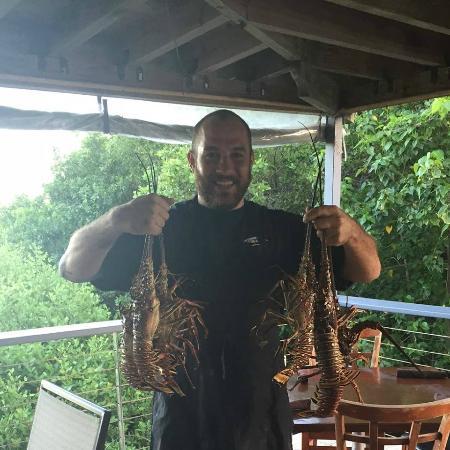 Sharky's Cantina : Fresh Lobster specials daily!!!
