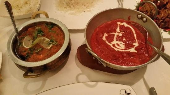 Henfield, UK : Our curries - very nice