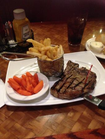 The Sterling Spoon Café: t-bone steack