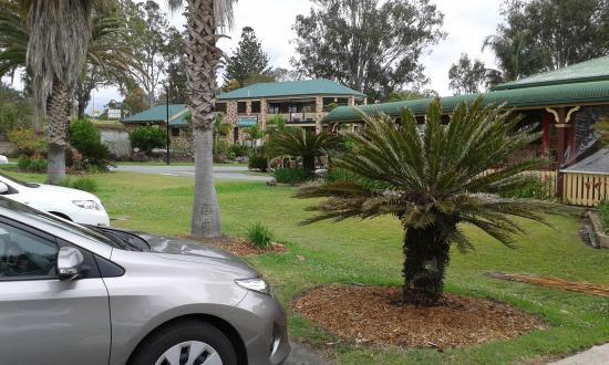 Tamborine, Australia: Looking toward Accomodation Block.