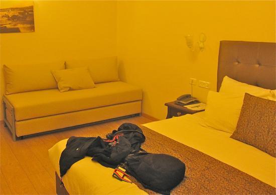 Kfar Giladi Hotel: Basic room in the hotel