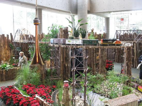 Model Train Display Picture Of Royal Botanical Gardens Burlington Tripadvisor