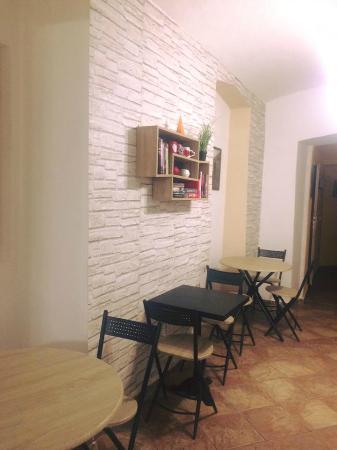 Kolin, Τσεχική Δημοκρατία: Posezení v zadní části restaurace