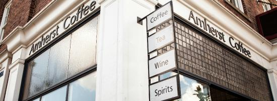 Amherst, MA: Coffee, Tea, Wine and Spirits, what more do you need?