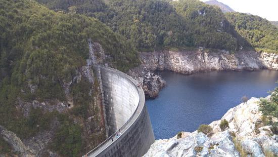 Strathgordon, Australië: Gordon Dam