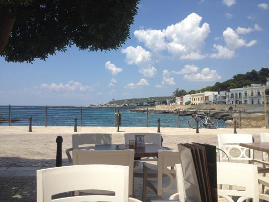 The lovely restaurant we bought ice cream and crepes from - Camera cafe santa maria al bagno ...