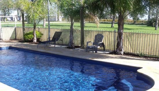 The Palms Caravan Park: Relaxing Pool