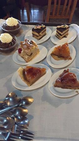 Restaurante Colbert: Dessert menu
