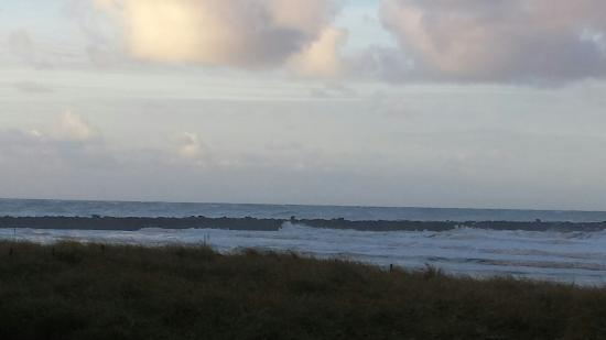 Ocean Shores, WA: Ocean Storm on the Jetty