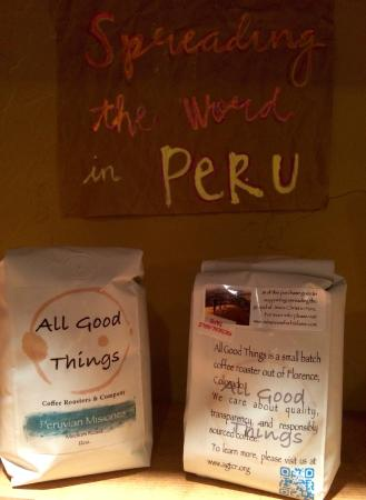 River Pointe Coffee House : Organic, responsibly sourced coffee from our roaster All Good Things Coffee