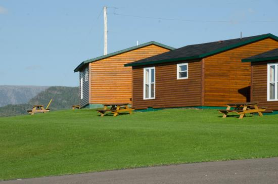 Gros Morne Cabins - well equipped and comfortable, with parking at the door