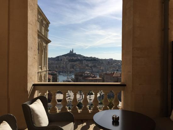 View from our room picture of intercontinental marseille hotel dieu mars - Brasserie hotel intercontinental marseille ...