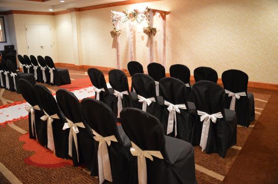Hilton Garden Inn West Monroe: Wedding Setup   Salon Function Rooms
