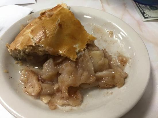 Waldoboro, ME: Apple pie.