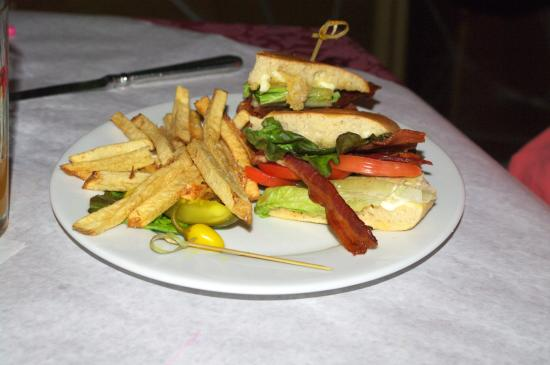 Jerome, AZ: Mesquite BLT Sandwich