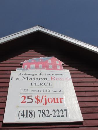 Panneau Photo De La Maison Rouge Percé TripAdvisor - La maison rouge perce