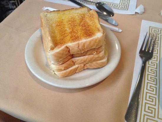 Best Western Crossroads Inn: Toast