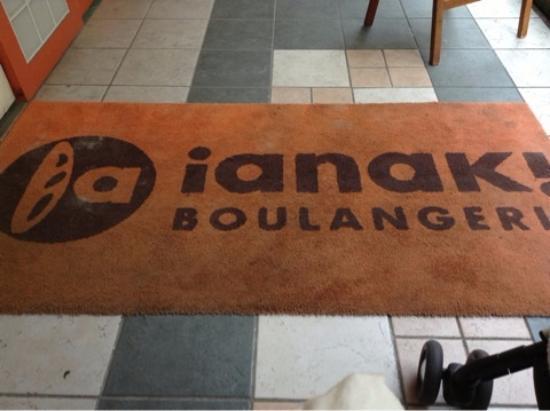 BOULANGERIE ianak!: お店の名前を右から読むと