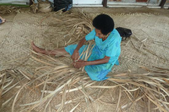 Basket Weaving Adelaide : Joining in on the dancing picture of discover fiji tours