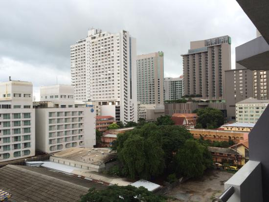 Sunshine Vista Serviced Apartment : バルコニーからの眺め