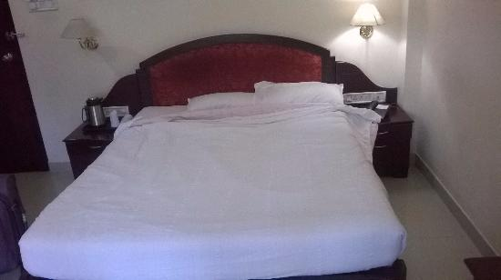 Hotel Gee Bee Palace: bed
