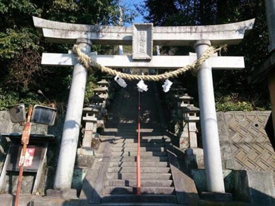 Kainan, Japan: 杉尾神社鳥居