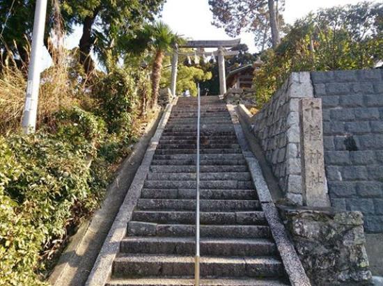 Kainan, Japan: 千種神社参道